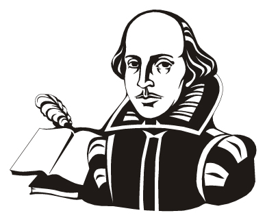 Shakespeare clipart Shakespeare Black And White Company  of Hamilton show