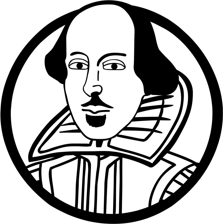 Shakespeare clipart Shakespeare Black And White Or 25893269 Letter Policy: About