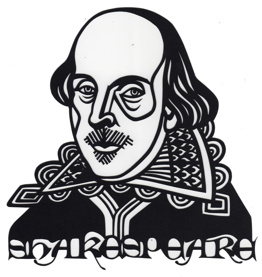 Shakespeare clipart Shakespeare Black And White Play folderol folderol Shakespeare Shakespeare