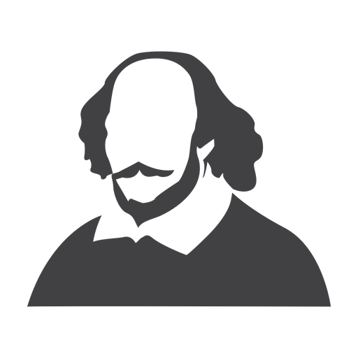 Shakespeare Clipart Transparent & silhouette Shakespeare png SVG