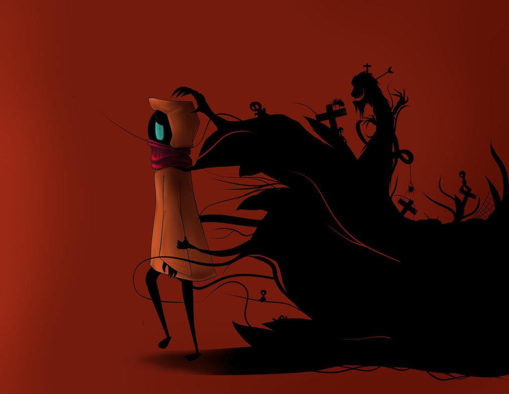 Shadow clipart bad #1