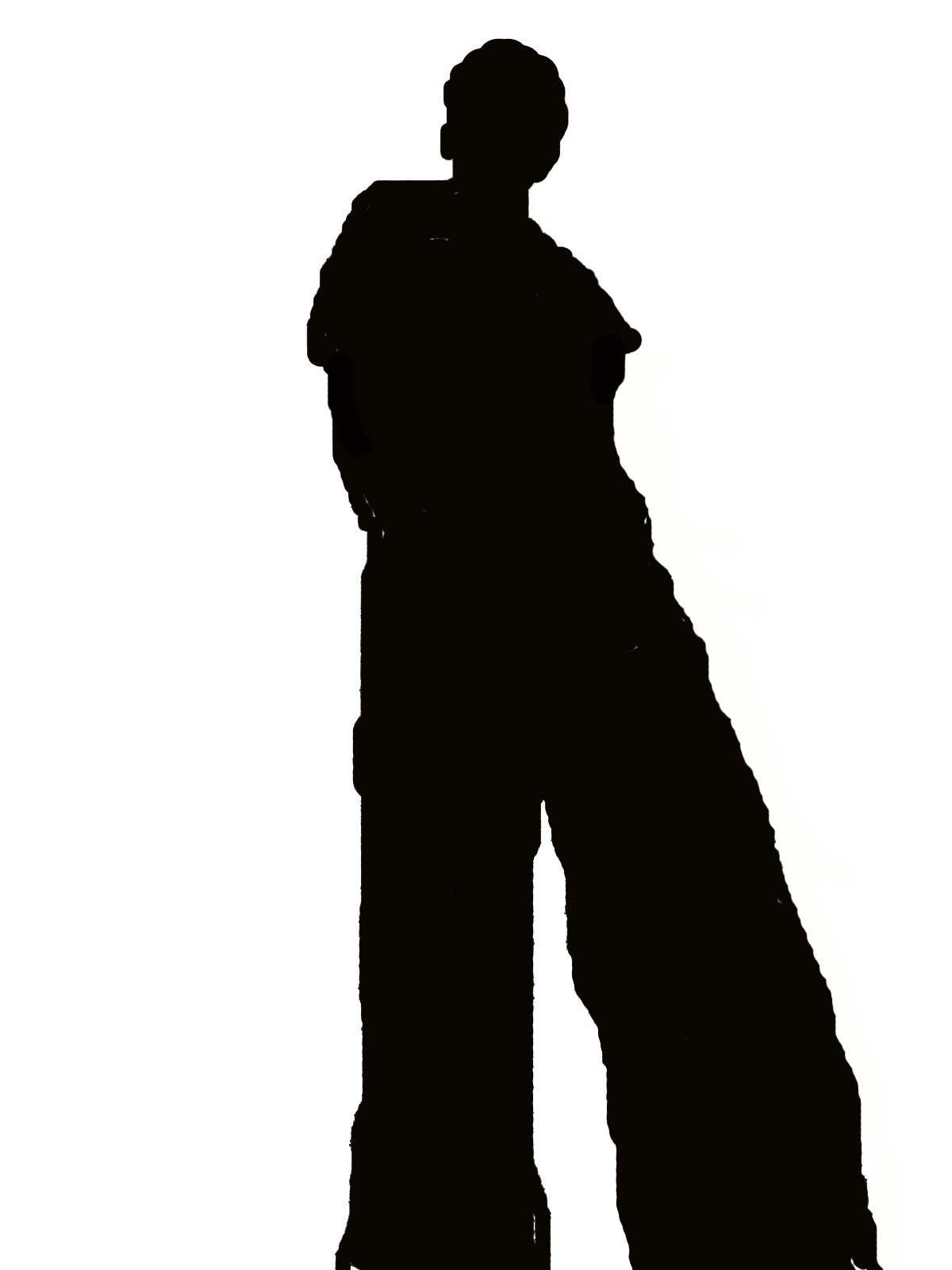 Shadow clipart bad #9