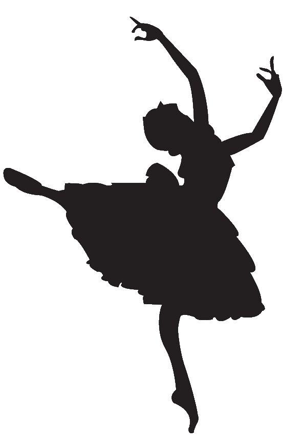 Danse clipart ballet Clipart Silhouette Dancer Free Panda