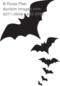 Shadow clipart bat #12