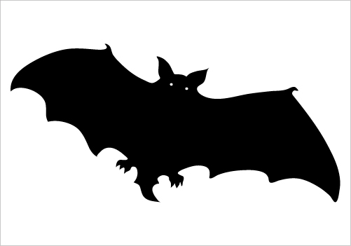 Shadow clipart bat #11