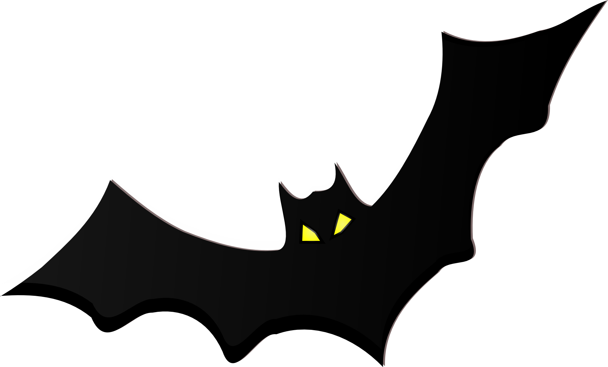Bat clipart printable Art Clip Free Black on
