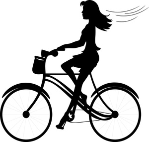 Shaow clipart bike Person%20clipart%20silhouette%20woman Images Silhouette Woman Free