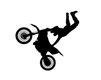 Stunt clipart freestyle motocross Silhouette Dirt > Vehicles Dirt