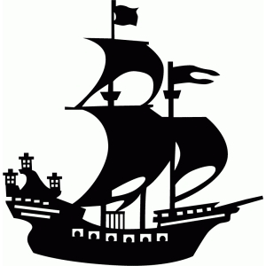 Shaow clipart boat Think this I Silhouette with