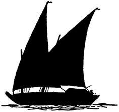 Shaow clipart boat Boat Silhouette blogspot  Kangaroo