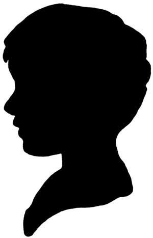 Shadow clipart boy shadow #5