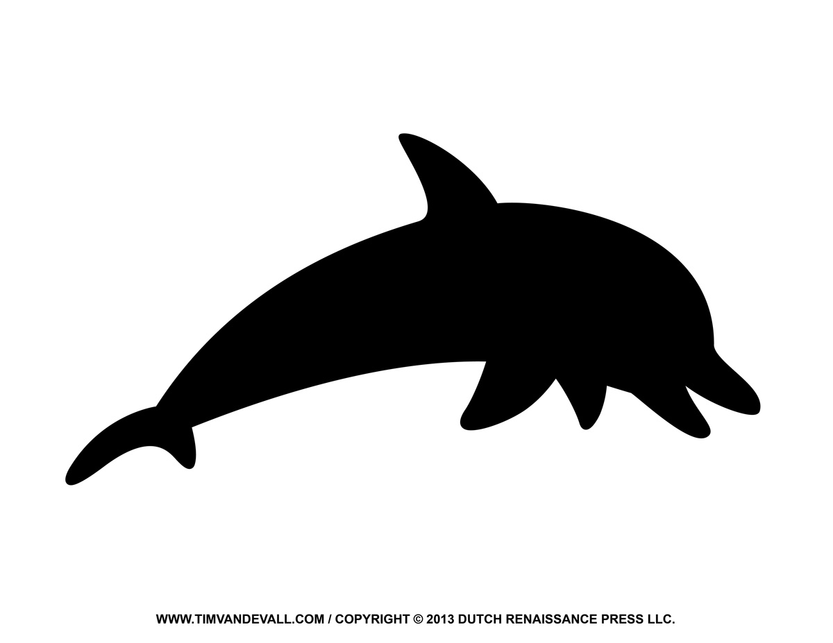 Shaow clipart dolphin #10491 clipart Dolphin silhouette clipart
