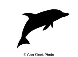 Shaow clipart dolphin 2 a Art silhouette illustration