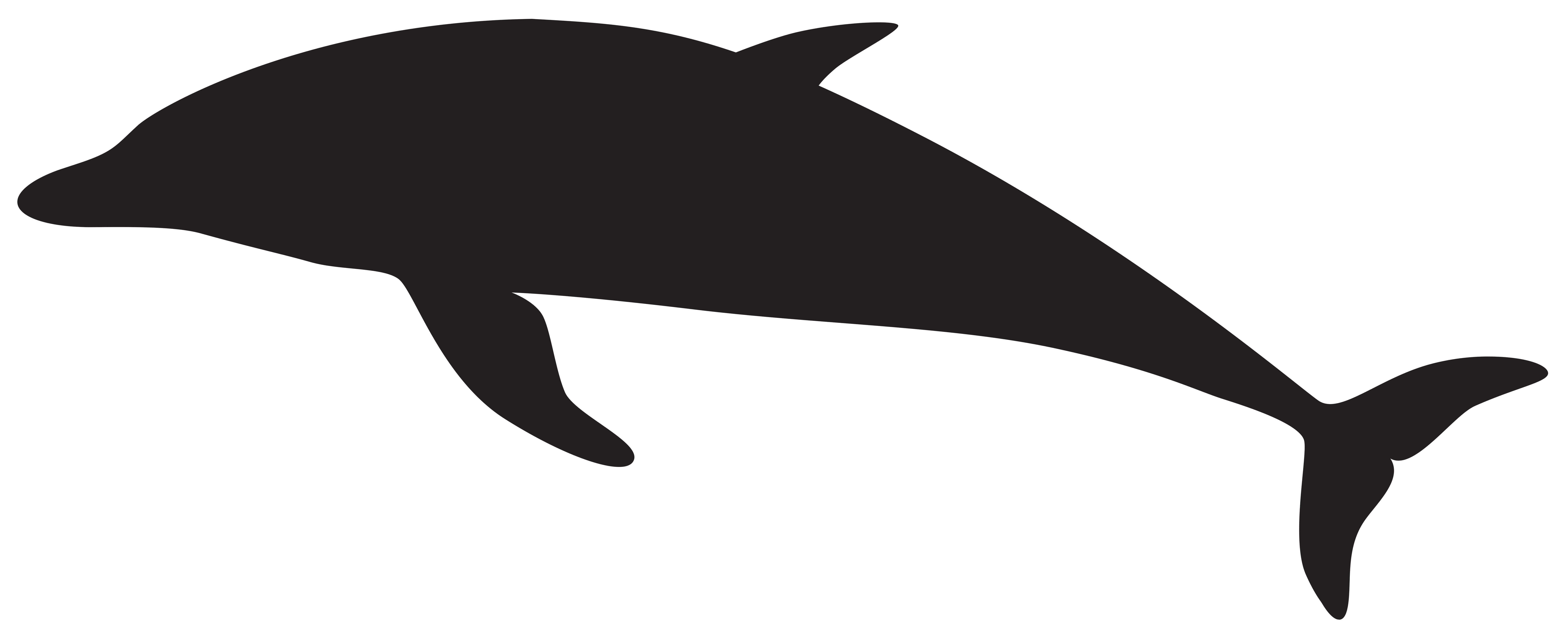 Shaow clipart dolphin Art size Dolphin full Gallery