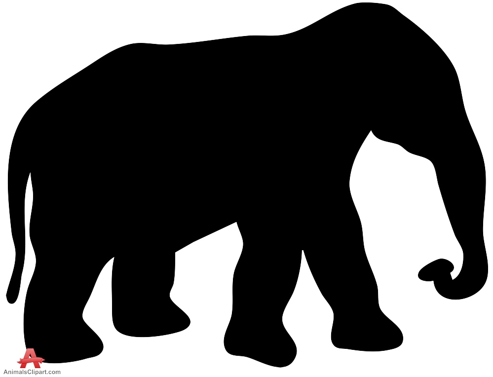 Animal clipart wilderness Clipart Elephant Silhouette elephant African