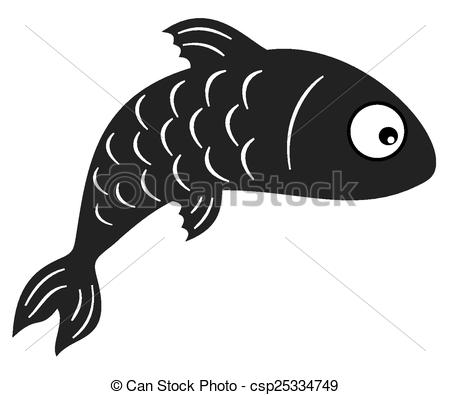 Shadow clipart fish #12
