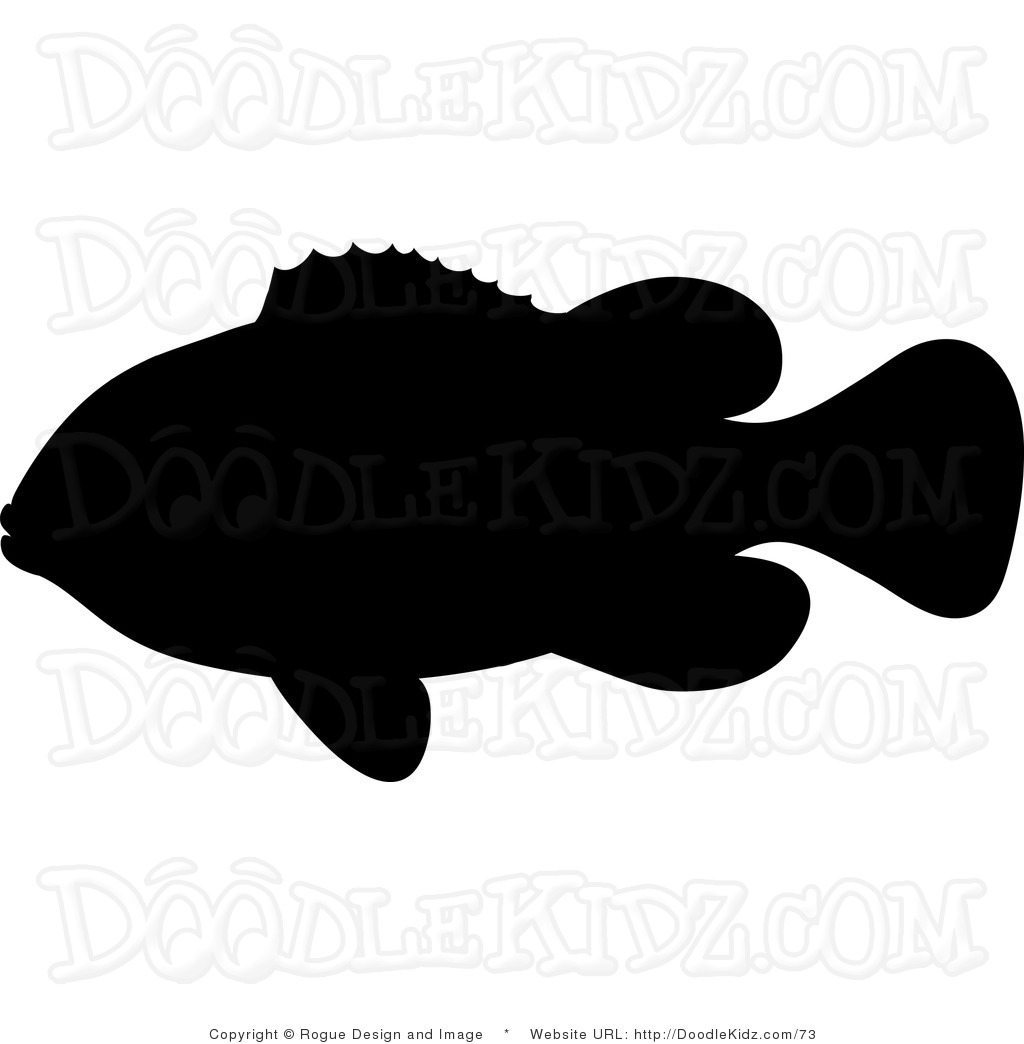 Shadow clipart fish #9