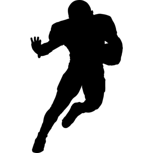 Football clipart silhouette Free Nfl  Clipart Images