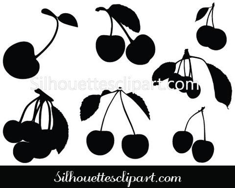 Shadow clipart fruit #11
