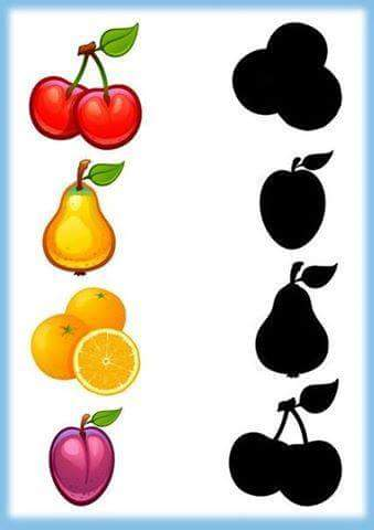Shadow clipart fruit #5