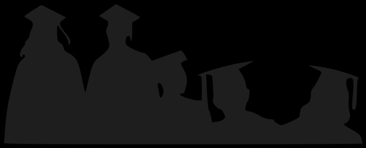 Shadow clipart graduation #12