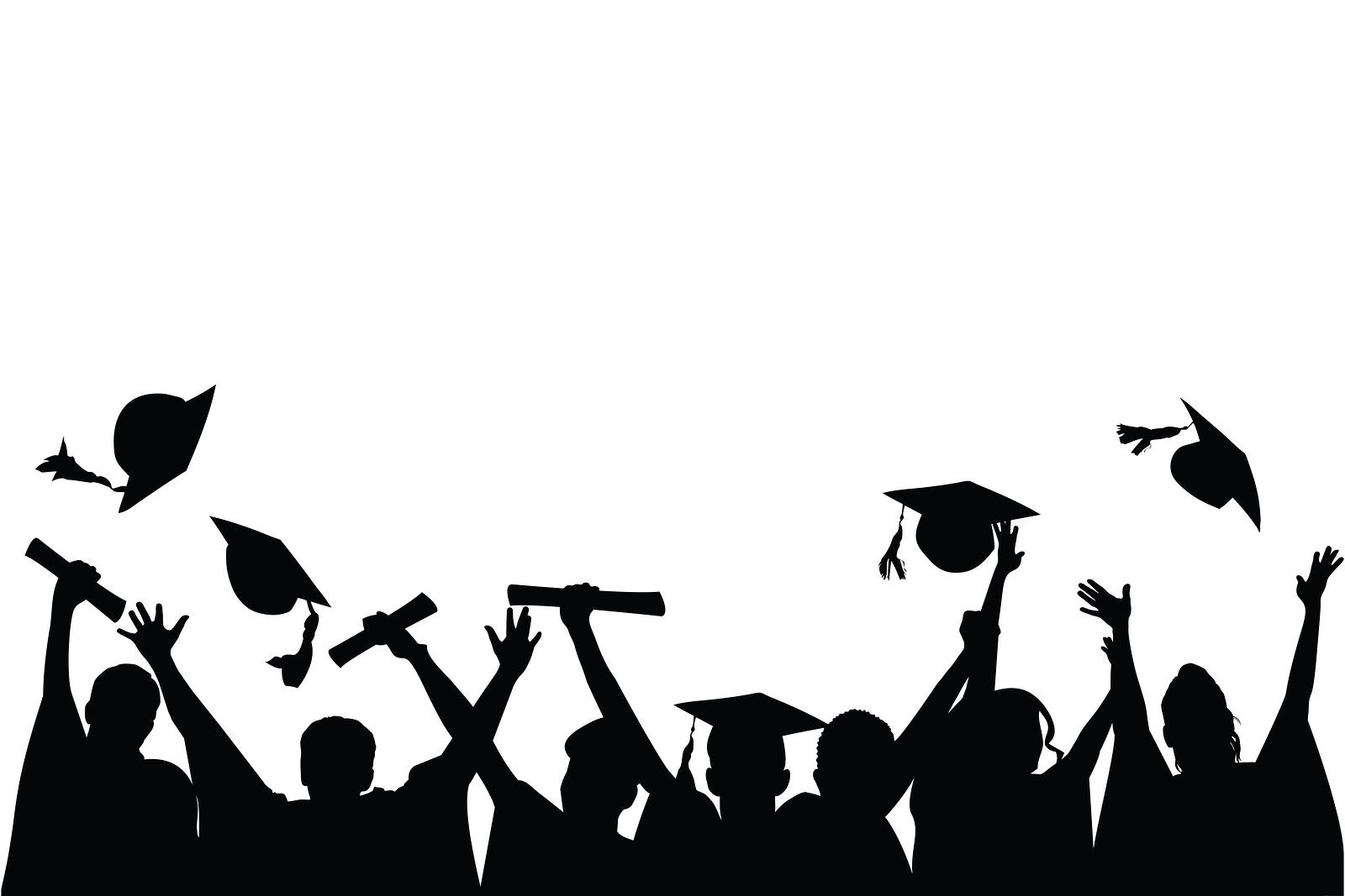 Shadow clipart graduation #13
