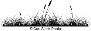 Shaow clipart grass  of Stock vector 169