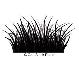 Shaow clipart grass Grass Clip of silhouette