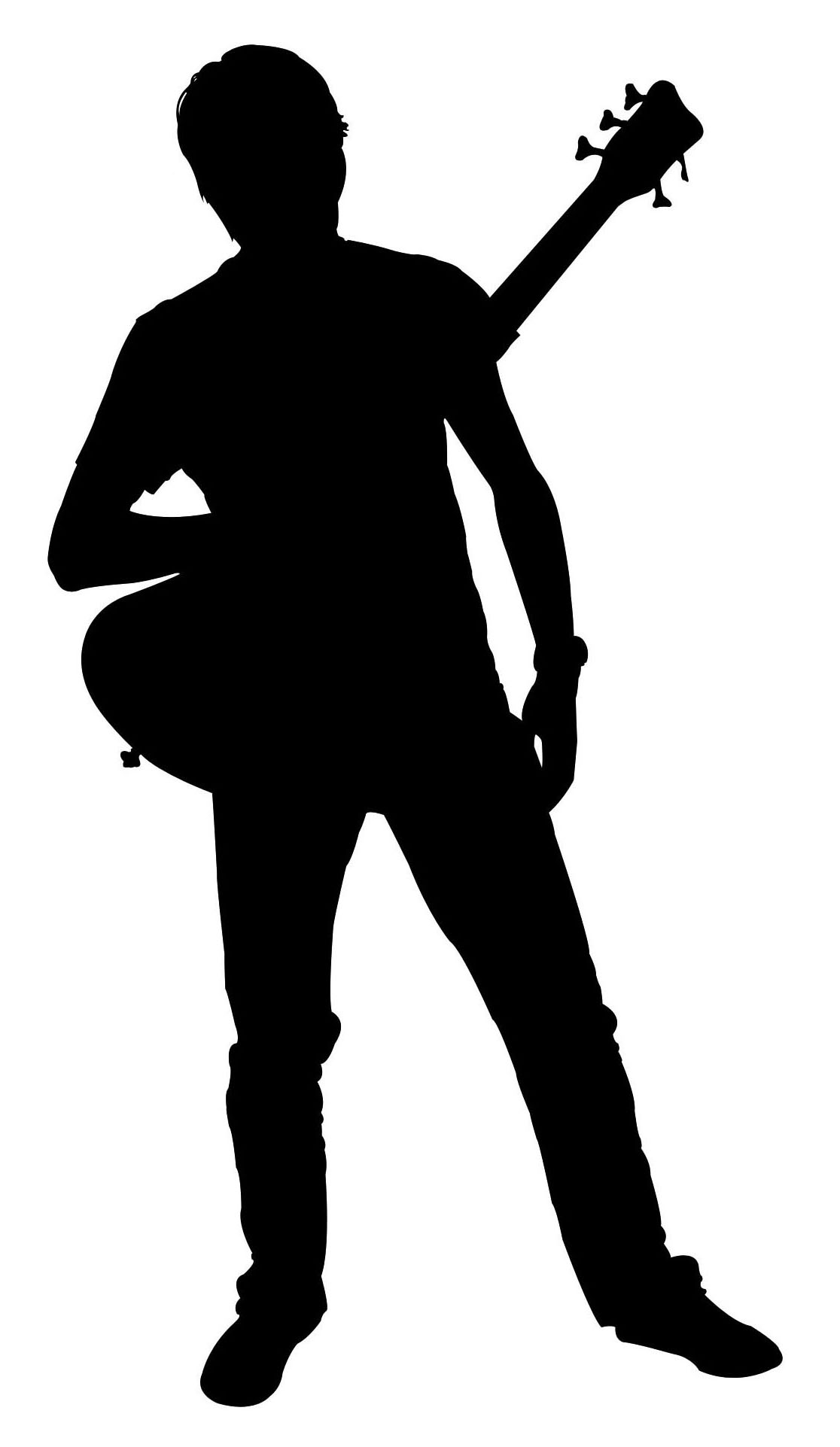 Shadow clipart two man #15