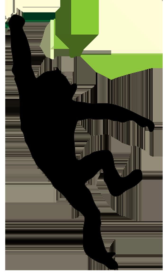 Shadows clipart monkey Pin Monkey net silhouette clipart