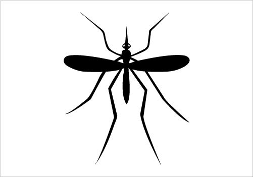 Shadow clipart mosquito #5