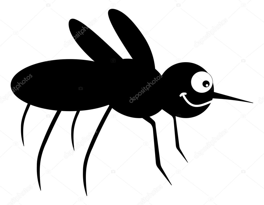 Shadow clipart mosquito #11