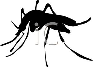 Shadow clipart mosquito #2