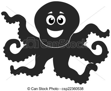 Shaow clipart octopus Octopus Vectors octopus of shadow