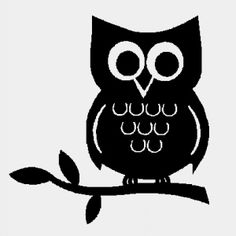 Owlet clipart silhouette Clipart  Search silhouettes owl