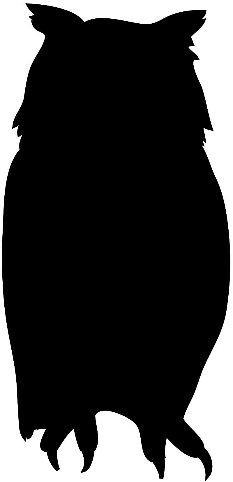 Owlet clipart silhouette Owl Art silhouette in Owl