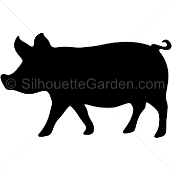 Shaow clipart pig Image free in versions of