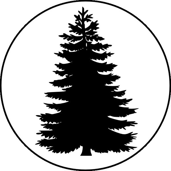 Pine Tree clipart tree silhouette Pine Silhouette Tree Free Download