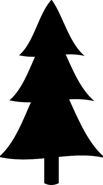 Simple clipart tree 25+ Best Pine Silhouette Free