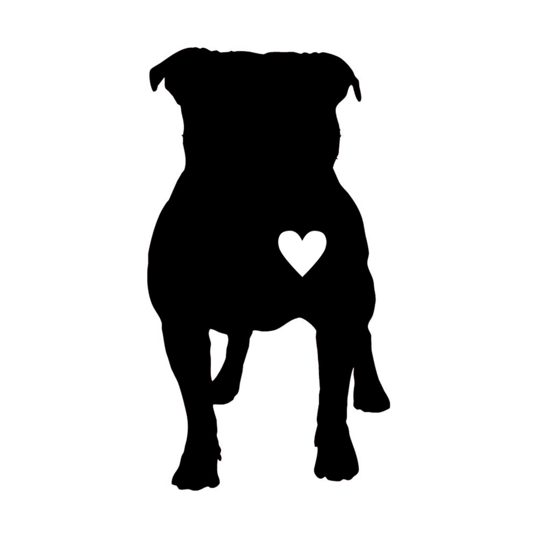 Pitbull clipart silhouette Pitbull FREE Pinterest silhouette silhouette