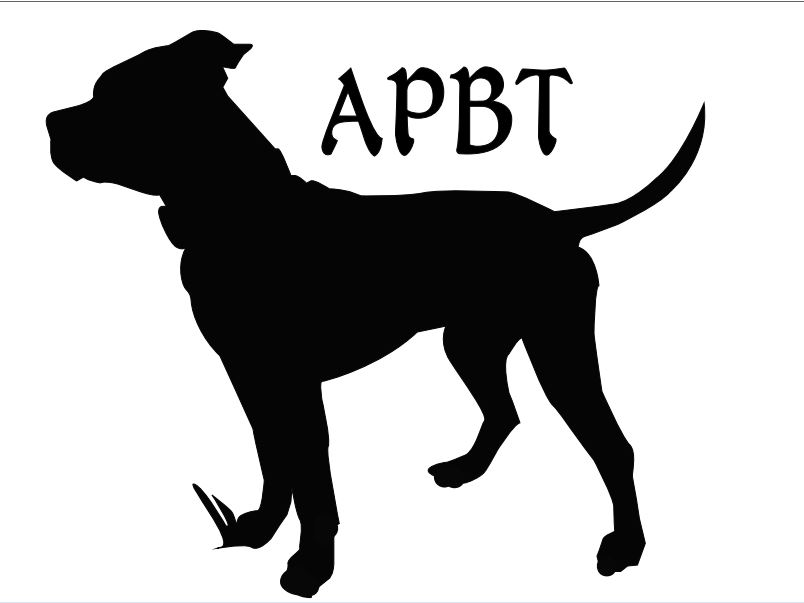 Pitbull clipart silhouette For Silhouette Dog > Gallery