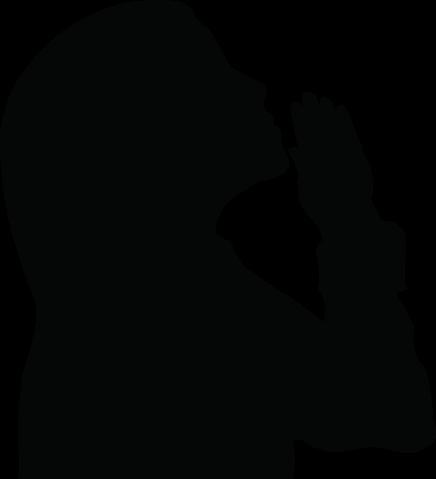 Shaow clipart prayer Clipart  Women Bible of