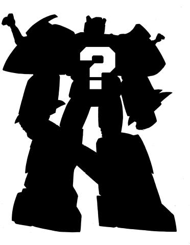 Shadow clipart robot #9