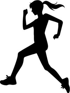 Shaow clipart runner Clipart Clipart Person Panda jogging%20clipart