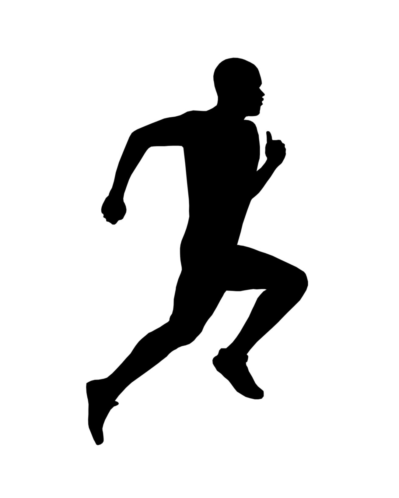 Shaow clipart runner Runner Clip on jpg Art