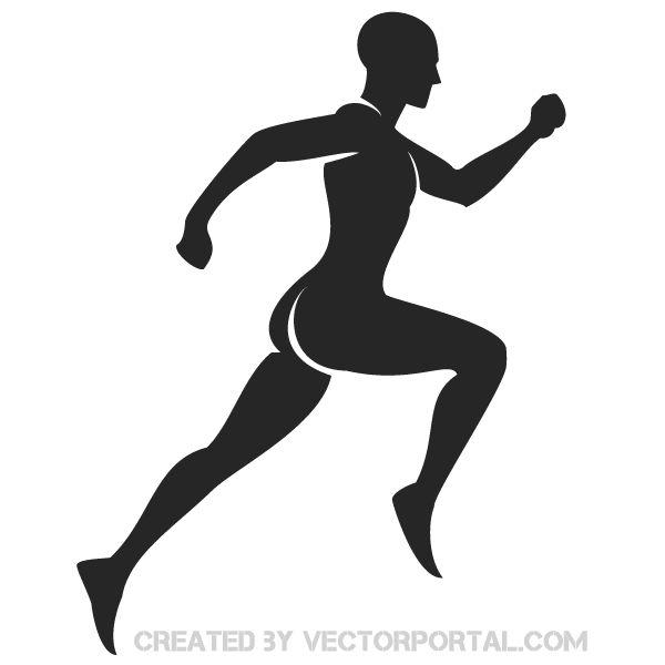 Shaow clipart runner Runner Graphics clipart download 16KB