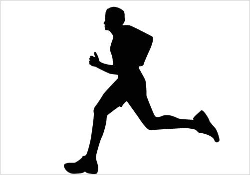 Shaow clipart runner Silhouette Silhouette Art Download Running