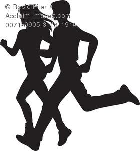 Shaow clipart runner Silhouette stock Images clipart runner