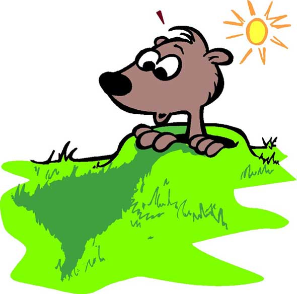 Shadows clipart sees Groundhog shadow sees jpg groundhog