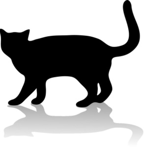 Shaow clipart silhouette Silhouette Dog Free Free Clipart